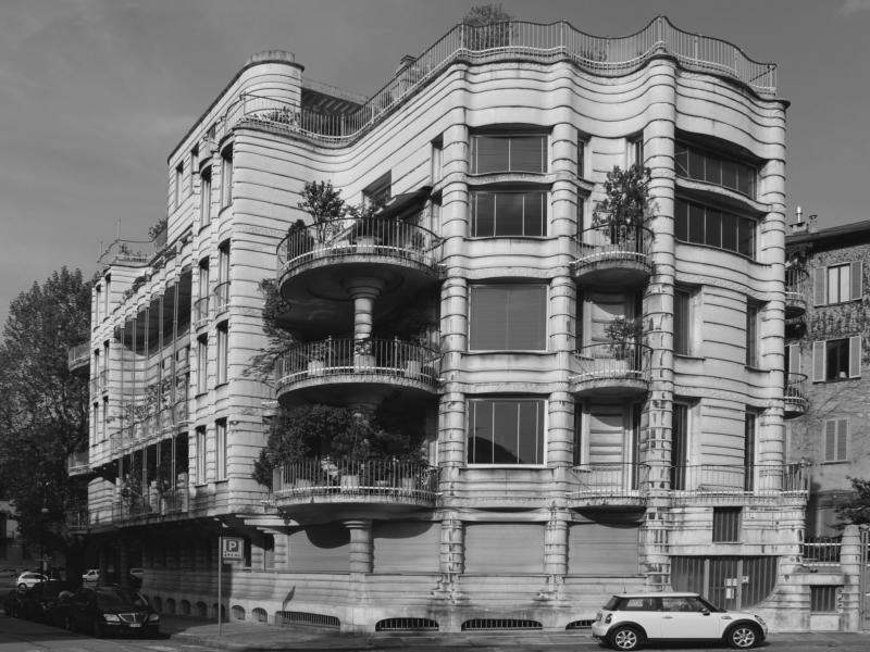 Casa dell'Obelisco by Jaretti&Luzi